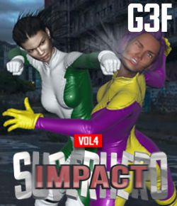 SuperHero Impact for G3F Volume 4