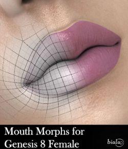 Mouth Morphs for Genesis 8 Female
