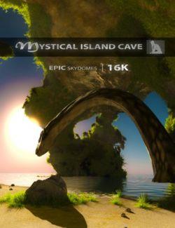 Epic Skydomes- Mystical Island Cave 16K HDRI