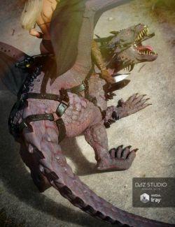 Crystal Dragon Saddle