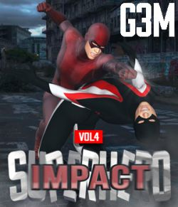 SuperHero Impact for G3M Volume 4