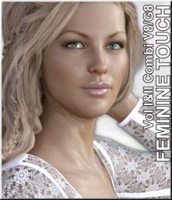 Feminine TouchI and II- V8/G8 Poses -Combi
