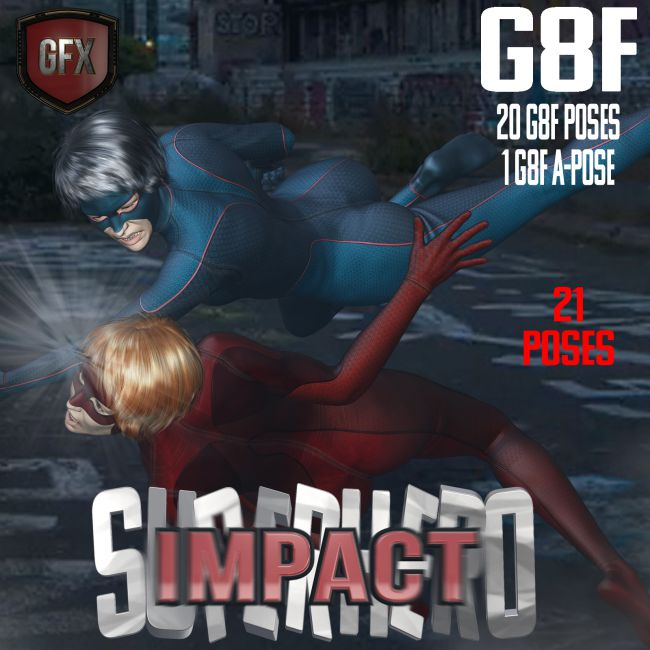 SuperHero Impact for G8F Volume 1