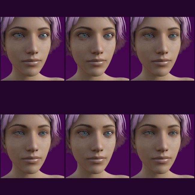 Eye Morphs for Genesis 8 Female | 3D Models for Poser and
