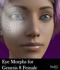 Eye Morphs for Genesis 8 Female