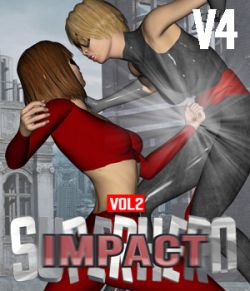 SuperHero Impact for V4 Volume 2