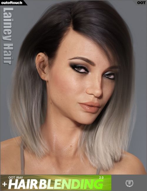 Lainey Hair for Genesis 3 Female(s) and Genesis 8 Female(s)