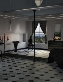 Modern Gothic Bedroom