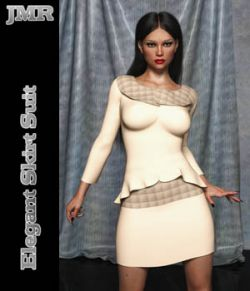 JMR Elegant Skirt Suit