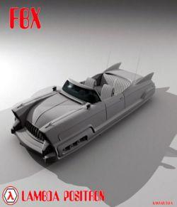 Lambda Positron FBX  - Extended License