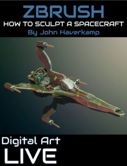 ZBrush Masterclass : How to Sculpt a Spacecraft Tutorial