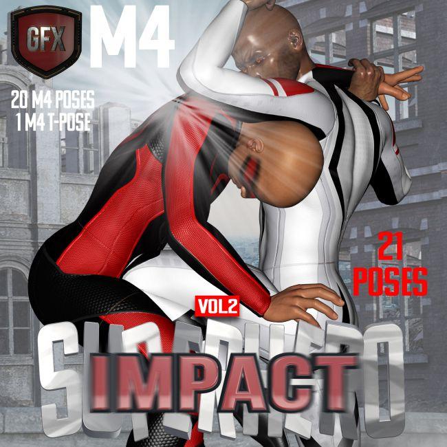 SuperHero Impact for M4 Volume 2
