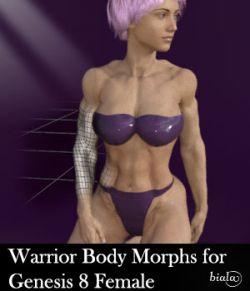 Warrior Body Morphs for Genesis 8 Female