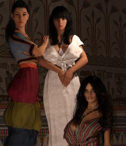 Minoan Era for Genesis 3 Female and Genesis 8 Female