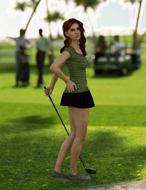 Sporting: Golf Poses for Genesis 3