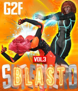 SuperHero Blast for G2F Volume 3