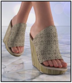 FootZee - Wedge Mules for G8F