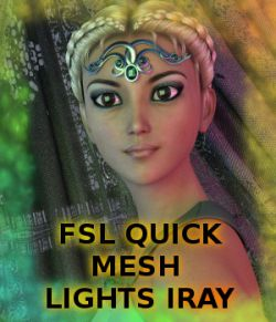 FSL Quick Mesh Lights Iray