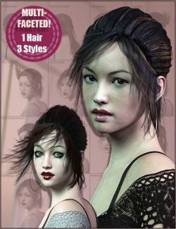 Handy Hair Practical Ponytail for Genesis 3 & 8 Female(s)