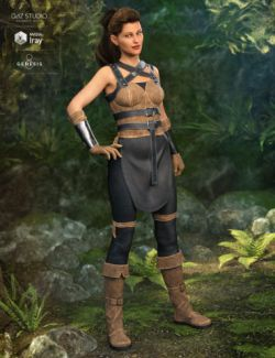 Rebel Rogue Outfit for Genesis 8 Female(s)