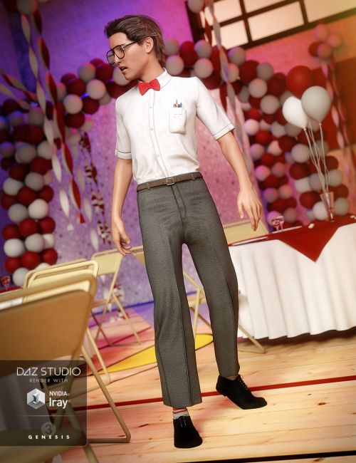 Nerdy Guy Outfit for Genesis 3 Male(s)