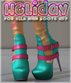 Holiday Ella High Boots G3F
