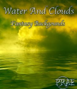 Prae-Water and Clouds Fantasy Backgrounds 2