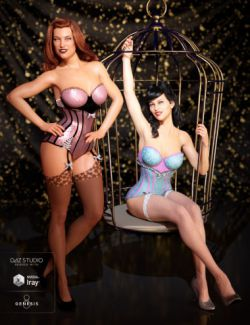 Burlesque Outfit Textures