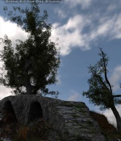 A Path Of Stone- A Scene Kit For Daz Studio