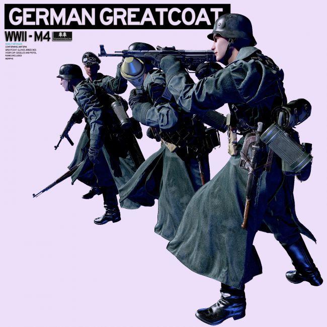 German Greatcoat WWII