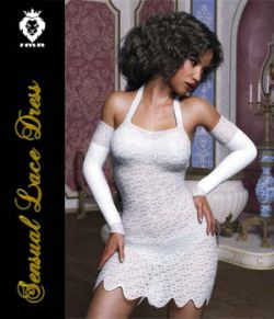 JMR Sensual Lace Dress for G3F