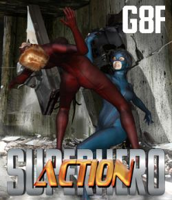 SuperHero Action for G8F Volume 1