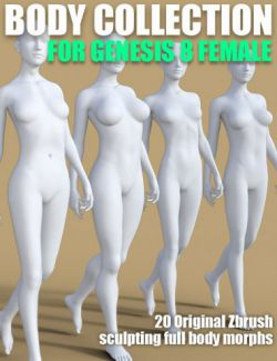 Body Collection for Genesis 8 Female