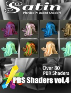 MEC4D PBS Shaders vol.4 for Iray MR