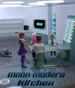 Moon Modern Kitchen