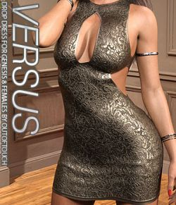 VERSUS - Drop Dress for Genesis 8 Females