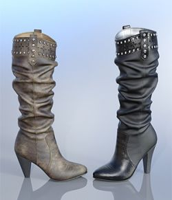 Chic Western Boots For G8F