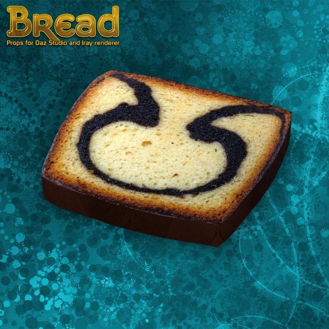 Exnem Bread For Daz Studio And Iray