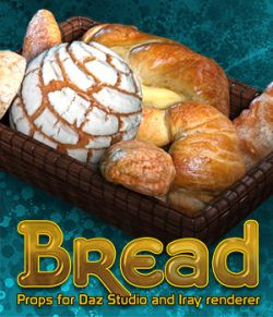 Exnem Bread for Daz Studio and Iray