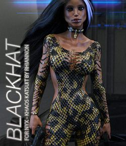 BLACKHAT- NyX- Khaos Katsuit