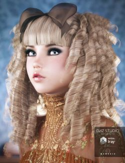 Goldie Locks Hair for Genesis 3 Female(s)