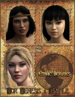 EJ Ethnic Beauties for Genesis 8 Female(s)