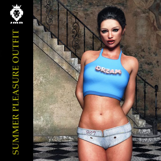 JMR Summer Pleasure Outfit for G3F