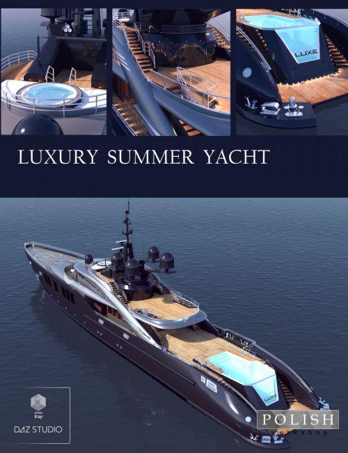 Luxury Summer Yacht
