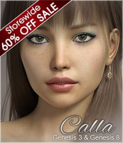 FWSA Calla for Genesis 3 and Genesis 8