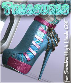 Treasures Sandra High boots G3F