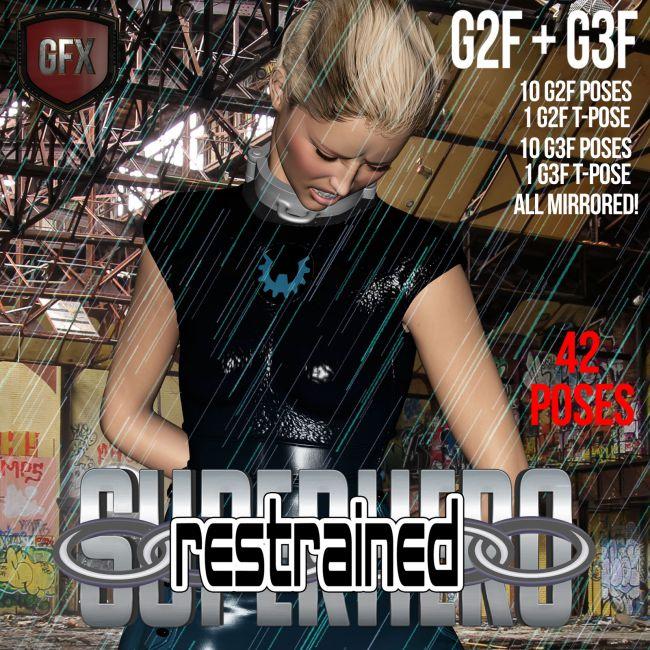 SuperHero Restrained for G2F & G3F Volume 1