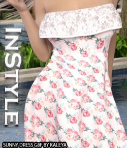 InStyle - Sunny Dress G8F