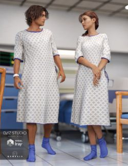 Hospital Wear for Genesis 3 Male(s) and Female(s)