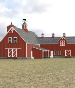 Barn for DAZ Studio